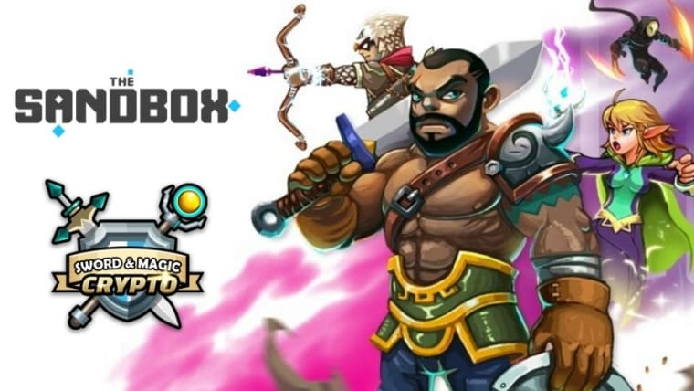 Sandbox Announces Its Partnership With Crypto Sword & Magic Game